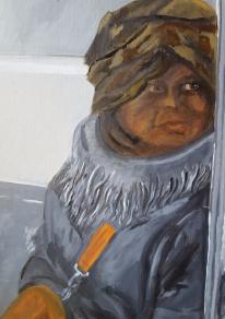 Homeless woman 2